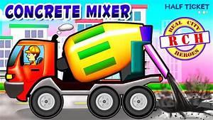 Concrete, Mixer, Truck