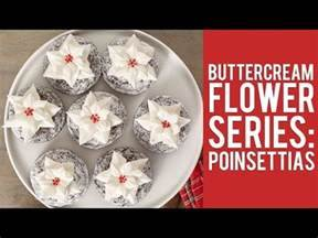 how to make a poinsettia flower out of paper buttercream flower series how to make poinsettias youtube