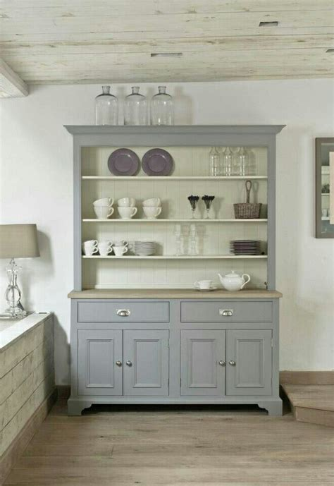 Painted Kitchen Furniture by Dresser Dish Dresser In 2019 Freestanding