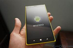 """Microsoft Reportedly Working on an Android Nokia """"Lumia ..."""