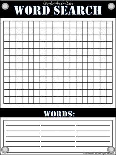 blank word search blank word search puzzles printable thank you for visiting our web page places to visit