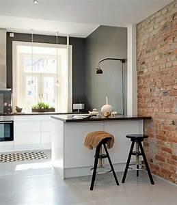 cuisine moderne taupe photos de conception de maison With couleur taupe clair peinture 2 couleur peinture cuisine 66 idees fantastiques