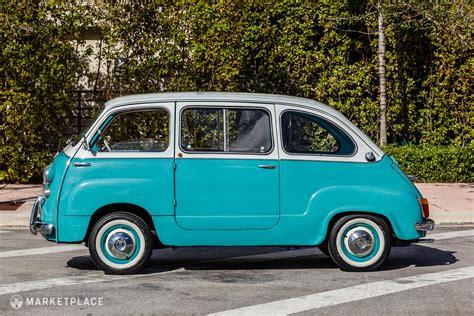 Fiat Multipla 600 1962 fiat 600 multipla petrolicious