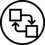 Icon Distribute Align Object Swap Arrange Exchange