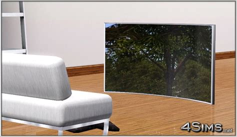 curved oled tv  sims  sims