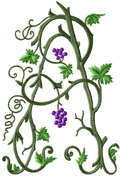 wild vine monograms