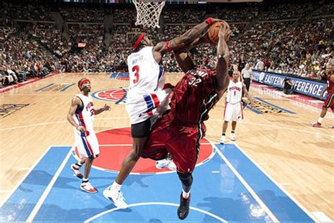 ben wallace top ten    big ben detroit bad boys