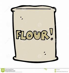 Cartoon Bag Of Flour Stock Images - Image: 37014054