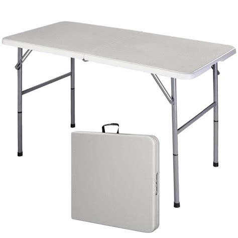 folding desk table 4 folding table portable indoor outdoor picnic