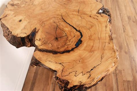 custom  edge spalted maple table saratoga ny