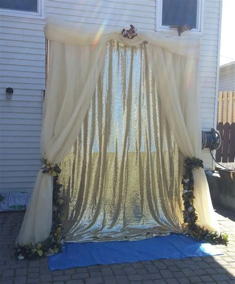 diy wedding arch with pvc pipe anyone done it