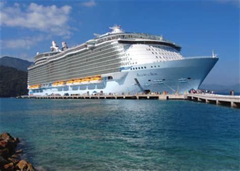 cruise ship allure   seas picture data facilities