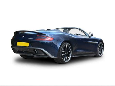 aston martin vanquish convertible special editions lease