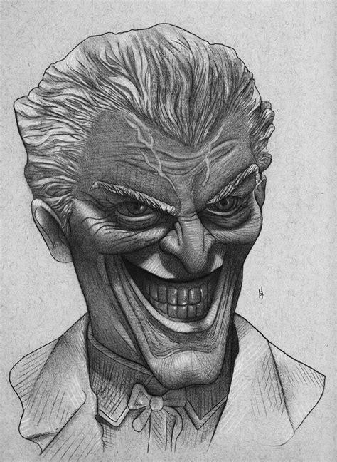 drawing   joker    batman
