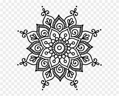 Dot Mandala Cricut Simple Flower Coloring Mandalas