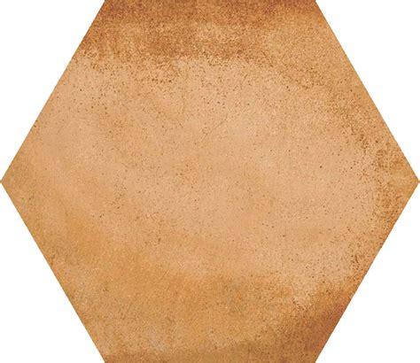 carrelage hexagonal tomette d 233 cor terre cuite 23x26 6cm