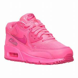 popular neon pink color Nike Air Max 90 GS HYPER