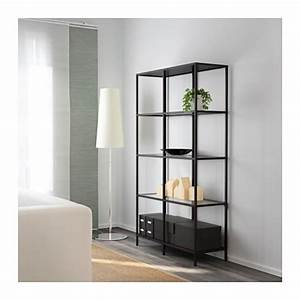 Ikea Regal Offen : vittsj regal schwarzbraun glas ikea ~ Sanjose-hotels-ca.com Haus und Dekorationen