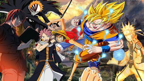 Naruto And Goku Wallpaper