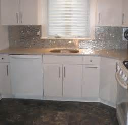 steel backsplash kitchen stainless steel circles backsplash subway tile outlet