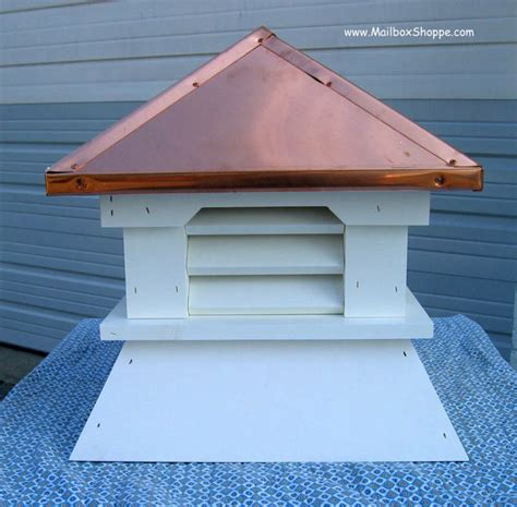 shed cupolas small 16 quot vinyl shed cupola real copper roof or painted