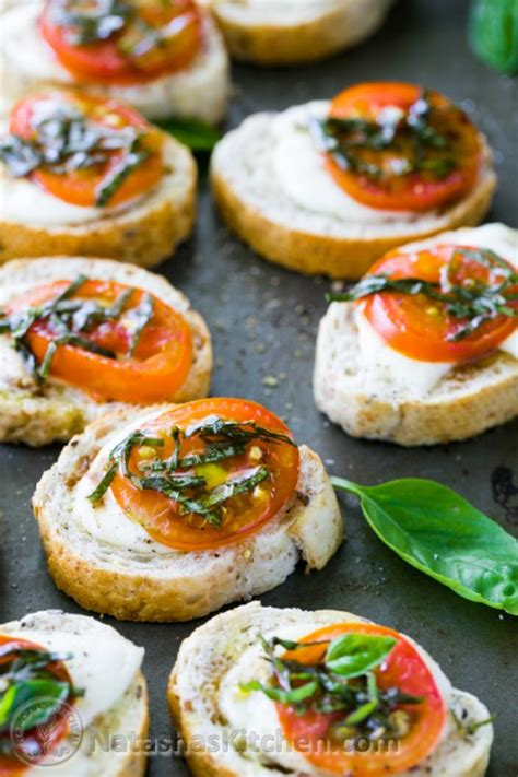 baked canapes caprese crostini canapes caprese salad baked sandwiches