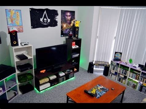 My Gaming Room Home Theater Setup Tour 10614 Youtube