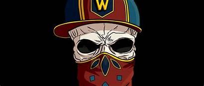 Skull Cap Kerchief 1080p Background Inst Wide