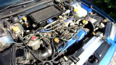 how cars engines work 1997 subaru impreza parking system 1998 subaru impreza terzo no engine start idle boost stop for sale youtube