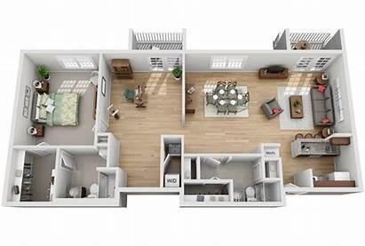 Den Bedroom Grand Floor Apartments Plan Apartment