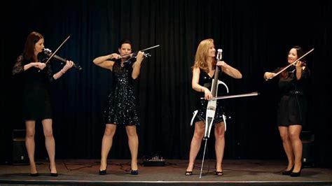 palatine electric string quartet perform palladio  karl