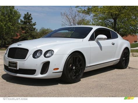 2018 Ice White Bentley Continental Gt Supersports