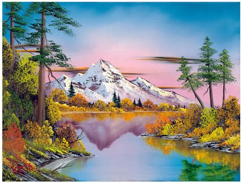 Bob Ross's First Museum Show Aims To