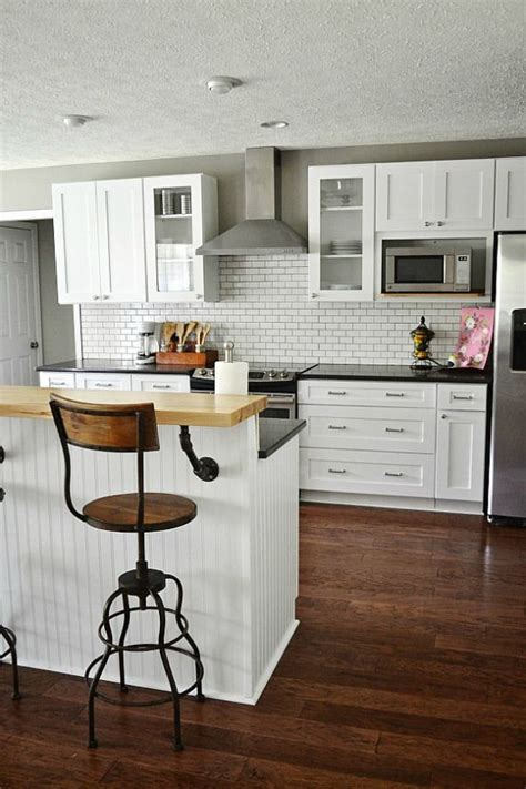 which paint for kitchen cabinets cozy industrial home tour salon kuchnia 1726