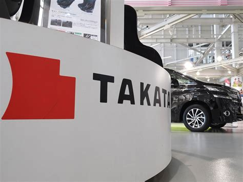 japanese firm takata  centre  largest auto parts