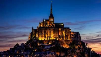 Michel Mont Castle Saint France St Wallpapers