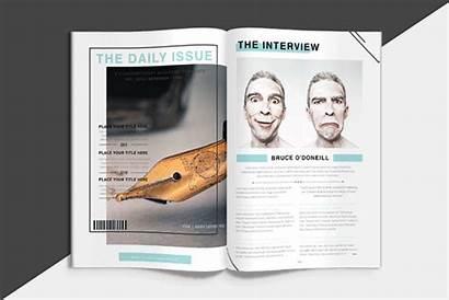 Magazine Animated Mockup Behance