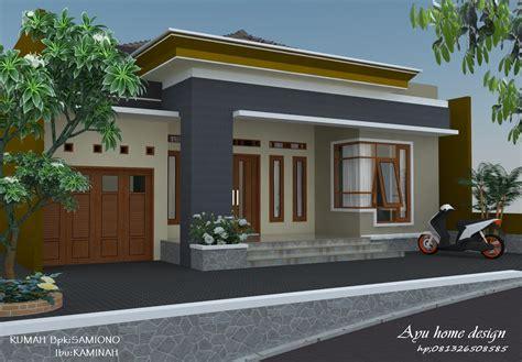 gambar rumah minimalis sederhana  desa gambar
