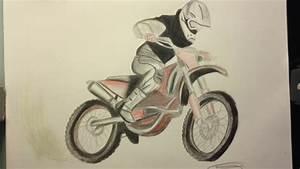 Vidéo De Moto Cross : dessin motocross freestyle timelapse youtube ~ Medecine-chirurgie-esthetiques.com Avis de Voitures