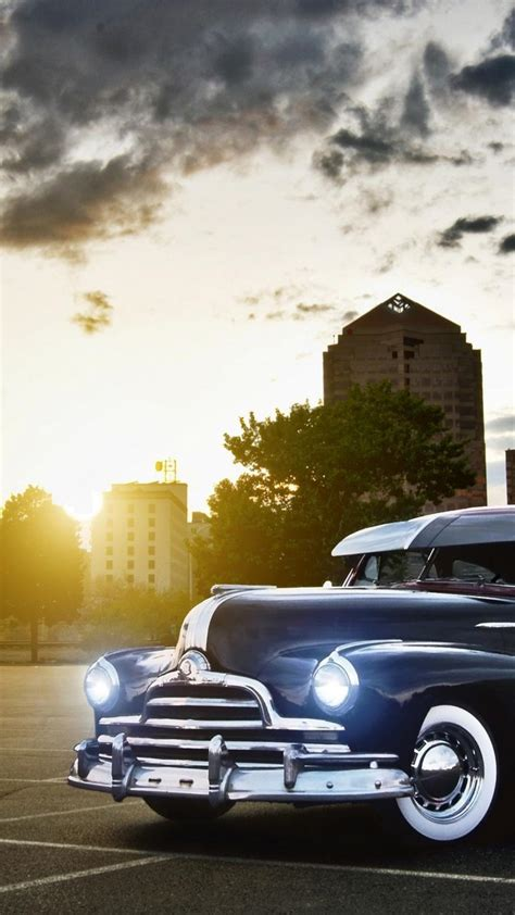 Car Iphone Black Home Screen Wallpaper by Vintage Car Iphone Wallpapers Top Free Vintage Car