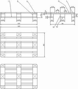 Dimension Palette Europe : logistique magasinage manutention palettes ~ Dallasstarsshop.com Idées de Décoration