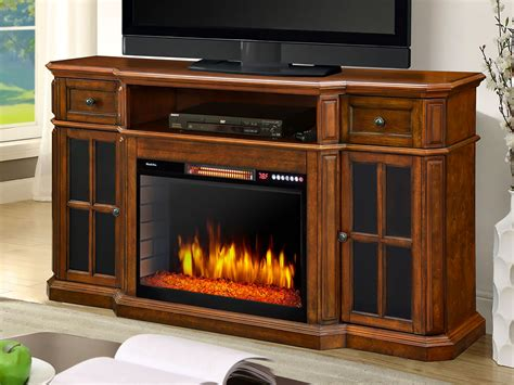 tv fireplace stand free interior top of entertainment centers with fireplace