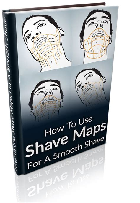 shave maps infographics   real men real style