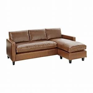 Sofa Mit Lautsprecher : chester 3 sitzer sofa mit chaiselongue aus leder braun habitat ~ Indierocktalk.com Haus und Dekorationen
