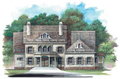 colonial french home   bdrms  sq ft floor plan