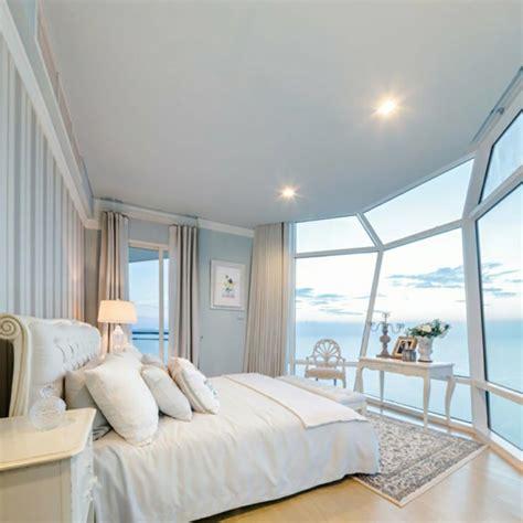 chambre design de luxe magnifiques chambres avec une vue à couper le