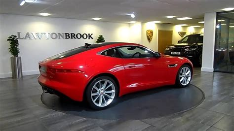 Jaguar F Type Red With Black Lawton Brook