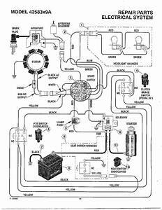 Brigg And Stratton Key Switch Wiring Diagram