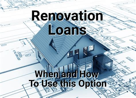 What American Homeowners Need To Know About Renovation Loans