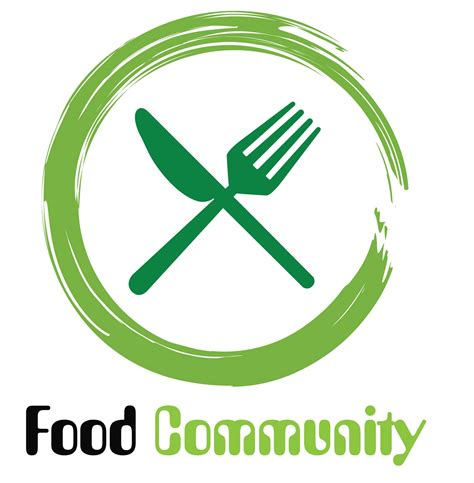 logo cuisine food community logo food bank community